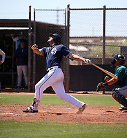 Ulysses Cantu - San Diego Padres 2019 extended spring training (Bill Mitchell)