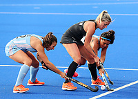 Gemma Flynn during the Pro League Hockey match between the Blacksticks women and Argentina, Nga Punawai, Christchurch, New Zealand, Sunday 1 March 2020. Photo: Simon Watts/www.bwmedia.co.nz