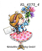 CHILDREN, KINDER, NIÑOS, paintings+++++,KL4575/4,#k#, EVERYDAY ,angel,angels ,sticker,stickers