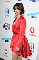 Camila Cabello<br /> in the press room for the Capital Summertime Ball 2018 at Wembley Arena, London<br /> <br /> ©Ash Knotek  D3407  09/06/2018