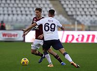 Torino 08-11-2020<br /> Stadio Grande Torino<br /> Campionato Serie A Tim 2020/21<br /> Torino - Crotone <br /> nella foto: Vojoda Mergim                         <br /> foto Antonio Saia -Kines Milano