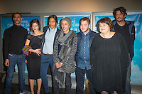 Kamel Kadri, Lola Creton, Alain Demaria et Dominique Cabrera ‡ L'avant premiËre du film Corniche Kennedy Au MK2 BibliothËque ‡ Paris le 17 janvier 2017