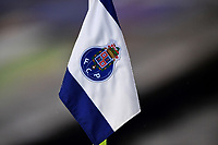 3rd January 2021; Dragao Stadium, Porto, Portugal; Portuguese Championship 2020/2021, FC Porto versus Moreirense; Corner flag of FC Porto is seen in the Dragao Stadium