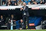 Coach Zinedine Zidane of Real Madrid during the match Real Madrid vs RCD Espanyol, a La Liga match at the Santiago Bernabeu Stadium on 18 February 2017 in Madrid, Spain. Photo by Diego Gonzalez Souto / Power Sport Images