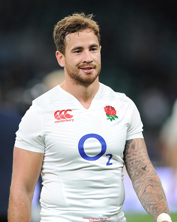 Danny Cipriani of England - 15/08/2015 - Twickenham Stadium - London <br /> Mandatory Credit: Rob Munro/Stewart Communications