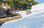 Team 囝仔來皂  in action during the Red Bull Soapbox Race 2017 Taipei at Multipurpose Gymnasium National Taiwan Sport University on 01 October 2017, in Taipei, Taiwan. Photo by Victor Fraile / Power Sport Images