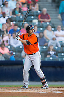 Jason Esposito (21) of the Bowie Baysox at bat against the Richmond Flying Squirrels at The Diamond on May 23, 2015 in Richmond, Virginia.  The Baysox defeated the Flying Squirrels 3-2.  (Brian Westerholt/Four Seam Images)