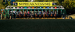 October 3, 2020: The field breaks from the gate in the Preakness during Preakness Stakes Day at Pimlico Race Course in Baltimore, Maryland. John Voorhees/Eclipse Sportswire/CSM