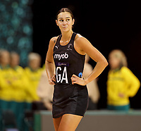 Ameliaranne Ekenasio of Silver Ferns during the Constellation Cup international netball series match between New Zealand Silver Ferns and Australian Diamonds at Christchurch Arena in Christchurch, New Zealand on Tuesday, 2 March 2021. Photo: Martin Hunter / lintottphoto.co.nz