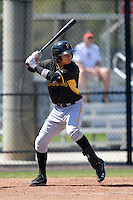 Pittsburgh Pirates Infielder Ashley Ponce (86) during a minor league spring training game against the Philadelphia Phillies on March 18, 2014 at the Carpenter Complex in Clearwater, Florida.  (Mike Janes/Four Seam Images)