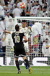 Real Madrid's Carlos Henrique Casemiro and AFC Ajax's Dusan Tadic during a UEFA Champions League match. Round of 16. Second leg. March, 5,2019. (ALTERPHOTOS/Alconada)