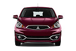 Car photography straight front view of a 2017 Mitsubishi Space-Star Instyle 5 Door Hatchback Front View