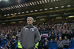 Sheffield Wednesday 2 Peterborough 1, 20/01/2010. Hillsborough, Championship. New manager Alan Irvine waiting for kick-off before Sheffield Wednesday take on Peterborough United in a Coca-Cola Championship match at Hillsborough Stadium, Sheffield. The home side won by 2 goals to 1 giving Alan Irvine his third straight win since taking over as Wednesday's manager. Photo by Colin McPherson.