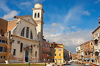 Fondamente Nani - Church - Venice Italy