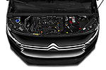 Car Stock 2020 Citroen Berlingo - 4 Door Car Van Engine  high angle detail view