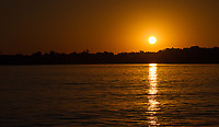 Sunset in the Pantanal.