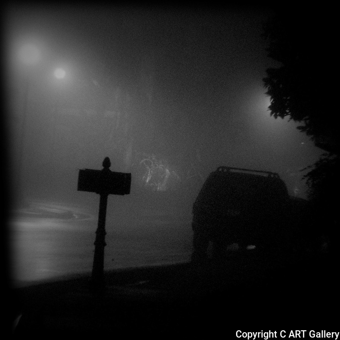Evening Fog, Newport Beach, CA