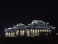 Volkskulturpalast in  Pyongyang, Nordkorea, Asien<br /> People's culture palace, Pyongyang, North Korea, Asia