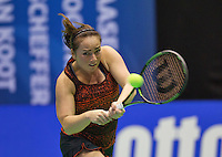 Rotterdam,Netherlands, December 15, 2015,  Topsport Centrum, Lotto NK Tennis, Wheelchair tennis, Nicole Thijssen (NED)<br /> Photo: Tennisimages/Henk Koster