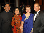 Satish and Yasmin Gupta with Farieda and Behram Irani at the Indian Film Festival Celebrity Gala at the InterContinental Hotel Saturday evening Sept. 26,2009. (Dave Rossman/For the Chronicle)
