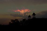 Sunrise over Jaipur in the Rajashtan State of India.