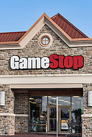 Game Stop store exterior, Mount Laural, New Jersey, USA