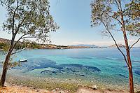 Aeginitissa in Aegina island, Greece