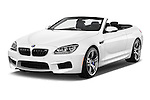 Front three quarter view of a 2014 BMW M6 Convertible