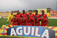 BOGOTA -COLOMBIA, 20-03-2017. Team of Patriotas.Action game between  La Equidad and Patriotas FC during match for the date 10 of the Aguila League I 2017 played at Techo  stadium . Photo:VizzorImage / Felipe Caicedo  / Staff