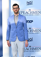 """LOS ANGELES, USA. September 02, 2021: Billy Eichner at the premiere for FX's """"Impeachment: American Crime Story"""" at the Pacific Design Centre.<br /> Picture: Paul Smith/Featureflash"""