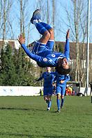 during Walthamstow vs Sawbridgeworth Town, Essex Senior League Football at Wadham Lodge Sports Ground on 8th February 2020