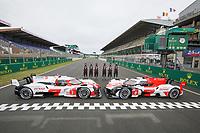 #7 TOYOTA GAZOO RACING (JPN) TOYOTA GR010  HYPERCAR - MIKE CONWAY (GBR) / KAMUI KOBAYASHI (JPN) / JOSE MARIA LOPEZ (ARG) - #8 TOYOTA GAZOO RACING (JPN) TOYOTA GR010  HYPERCAR - SEBASTIEN BUEMI (CHE) / KAZUKI NAKAJIMA (JPN) / BRENDON HARTLEY (NZL)