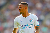 11th September 2021; King Power Stadium, Leicester, Leicestershire, England;  Premier League Football, Leicester City versus Manchester City; Gabriel Jesus of Manchester City