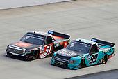 #51: Chandler Smith, Kyle Busch Motorsports, Toyota Tundra JBL, #99: Ben Rhodes, ThorSport Racing, Ford F-150 Tenda
