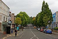 2018 07 11 Empty Walter Road, Swansea, Wales, UK