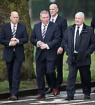 Kenny McDowall, Ally McCoist and Archie Knox
