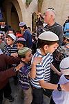 Judea, Hebron Mountain. Dancing at Beth Hadassah in Hebron