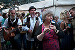 Straw Jack, Carshalton Surrey 2017. At the end of the day in the beer garden of The Hope pub.