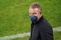 Bundestrainer Hansi Flick (Deutschland Germany) begrüßt die Fans - St. Gallen 02.09.2021: Lichtenstein vs. Deutschland, WM-Qualifikation, St. Gallen