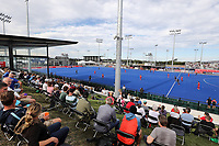 General view during the Pro League Hockey match between the Blacksticks men and the Spain, Nga Punawai, Christchurch, New Zealand, Sunday 16 February 2020. Photo: Simon Watts/www.bwmedia.co.nz