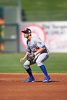 Glendale Desert Dogs Tim Locastro (3), of the Los Angeles Dodgers organization, during a game against the Surprise Saguaros on October 22, 2016 at Surprise Stadium in Surprise, Arizona.  Surprise defeated Glendale 10-8.  (Mike Janes/Four Seam Images)