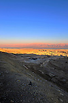 28 December 2011: Dusk photographs overlooking the Dead Sea in the Negev Desert north of  Eilat, Israel. Mandatory Credit: Ed Wolfstein