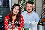 Enjoying the evening out in the Ashe Hotel on Thursday, l to r: Amy Maher and Daniel Teahan.