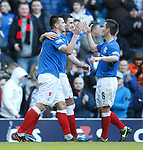 Lee McCulloch celebrates his goal