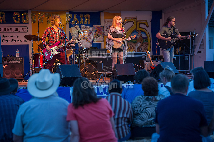 75th Amador County Fair, Plymouth, Calif.<br /> <br /> The band Herrick plays on Picnic Hill during day three