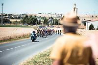 overviewing the peloton.<br /> <br /> Stage 4: Reims to Nancy (215km)<br /> 106th Tour de France 2019 (2.UWT)<br /> <br /> ©kramon
