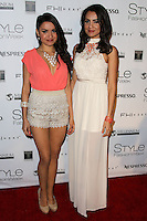 LOS ANGELES, CA, USA - MARCH 12: Shauna Baker, Shannon Baker at the Style Fashion Week Los Angeles 2014 7th Season - Day 4 held at L.A. Live Event Deck on March 12, 2014 in Los Angeles, California, United States. (Photo by Xavier Collin/Celebrity Monitor)