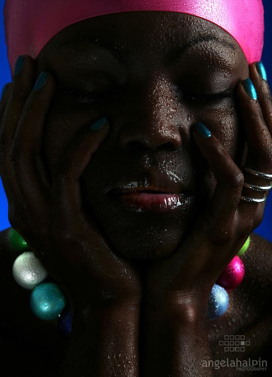 Jewelery Designer: Melissa Curry.Model: Lucrece Mougoue.Photographer: Angela Halpin