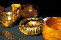 Hawaiian koa wooden bowls