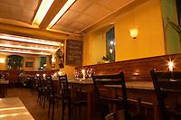 The dining room at the gastronomic restaurant Eriks Bakficka på Östermalm Stockholm, Sweden, Sverige, Europe